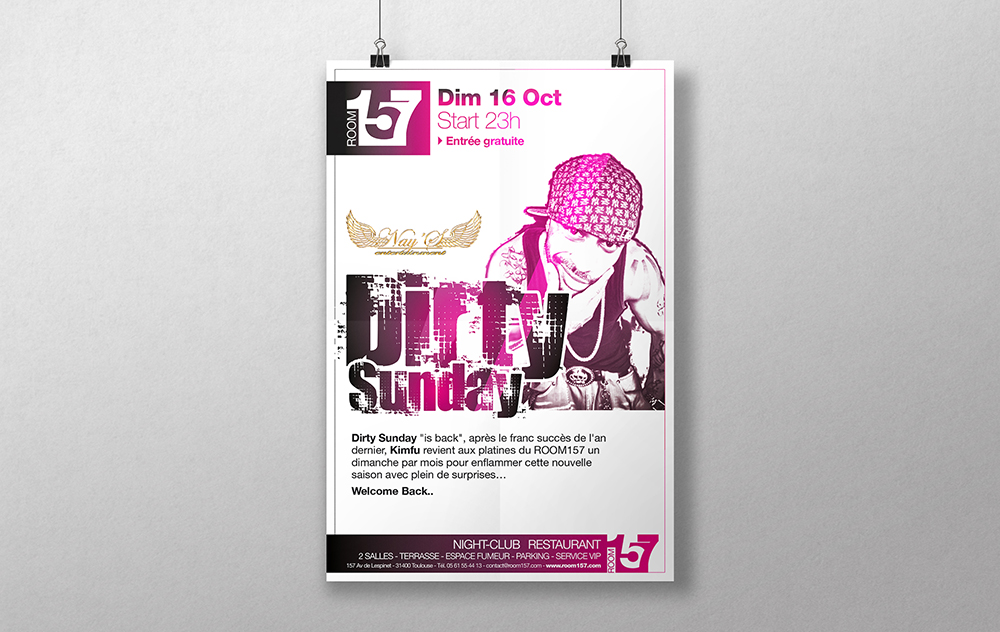 ROOM157-dirtysunday-poster