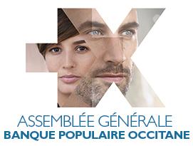 Banque Populaire Occitane Invitation AG